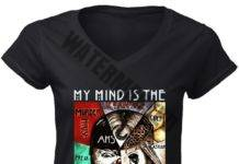 My Mind Is The Horror Story women v-neck shirt