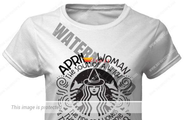 April woman the soul of a witch the fire of a lioness the heart of a hippie the mouth of a sailor classic women shirt
