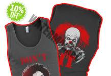 Frank N. Furter and Pennywise don't dream it be IT tank top