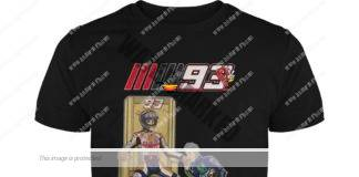 Valentino Rossi hand-kissing Marc Márquez guy shirt