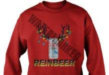 Coors Light Reinbeer Christmas sweatshirt