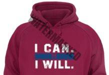 Roman Reigns i can i will unisex hoodie