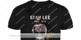 Stan Lee 1922-2018 thank you for the memories guy shirt
