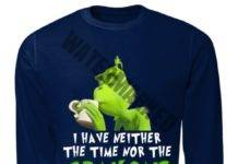 The Grinch I have neither the time nor the crayons to explain this to you sweater