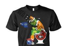 The Grinch Toilet Tennessee Volunteers Georgia Bulldogs Kentucky Wildcats Florida Gators unisex shirt