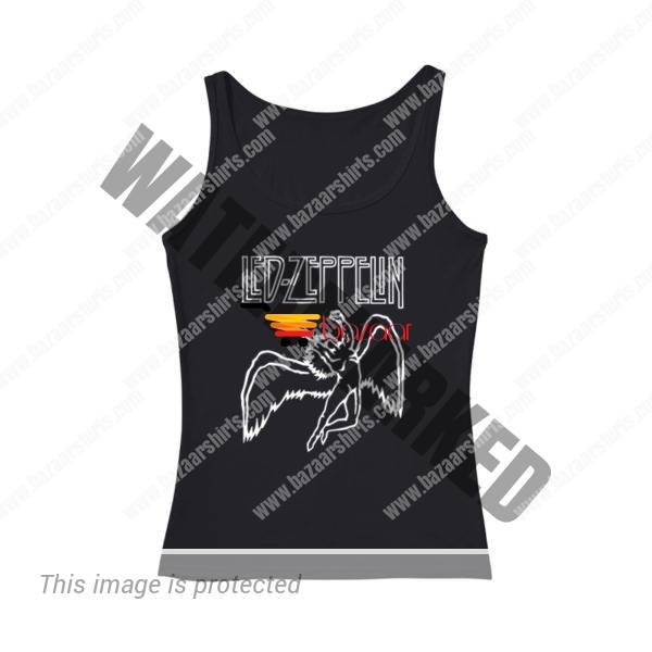 Led zeppelin Let the music be your master women tank top