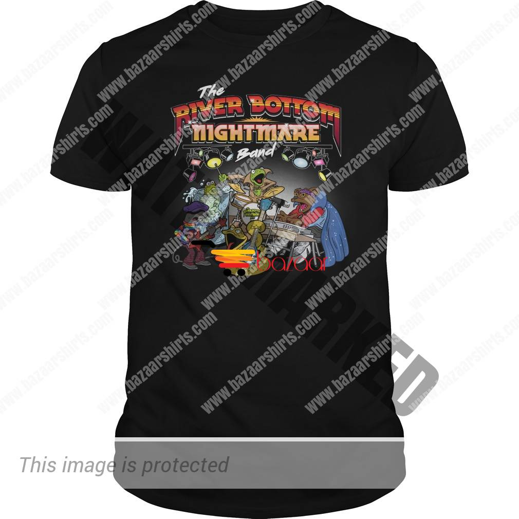 The river bottom nightmare band unisex shirt