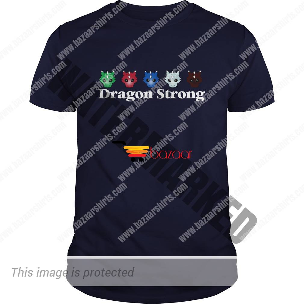 2 year anniversary dragon strong guy shirt