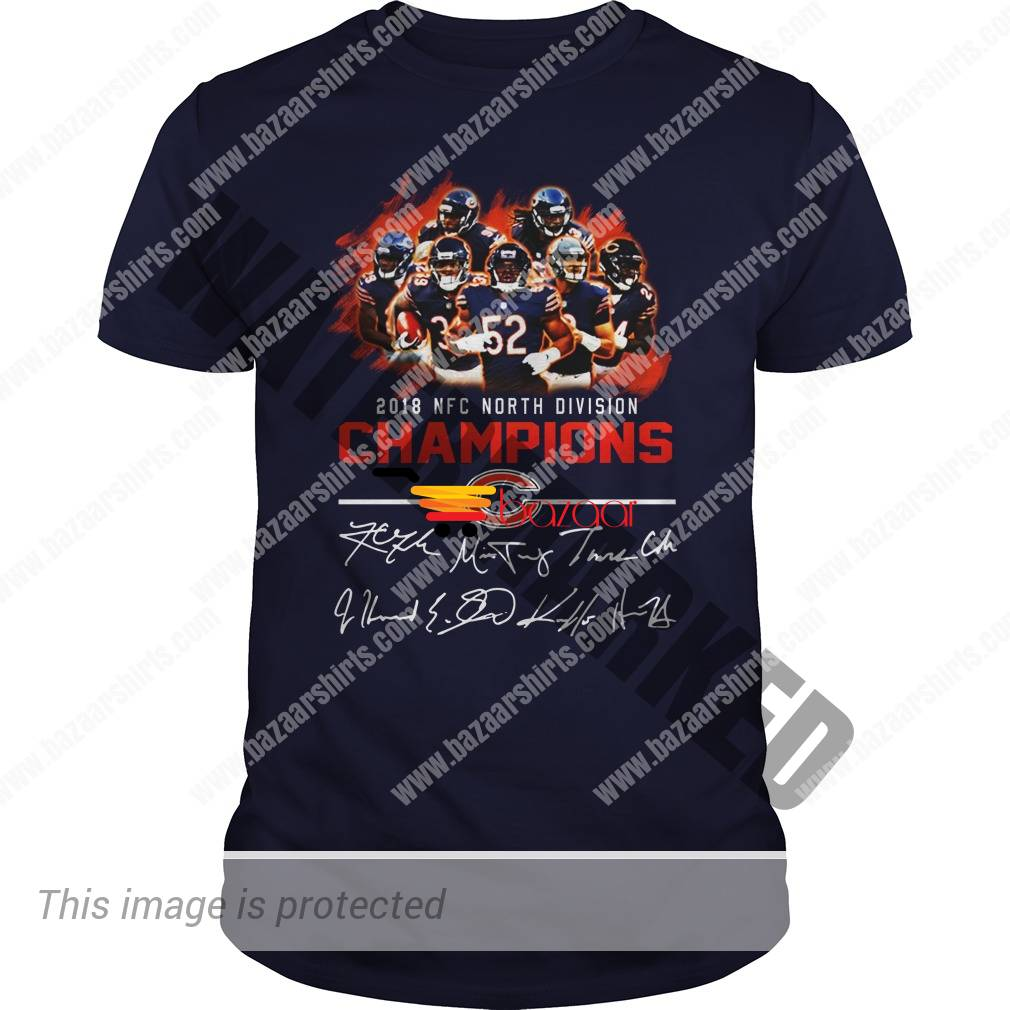 Chicago Bears 2018 NFC North Division Champion Signature shirt