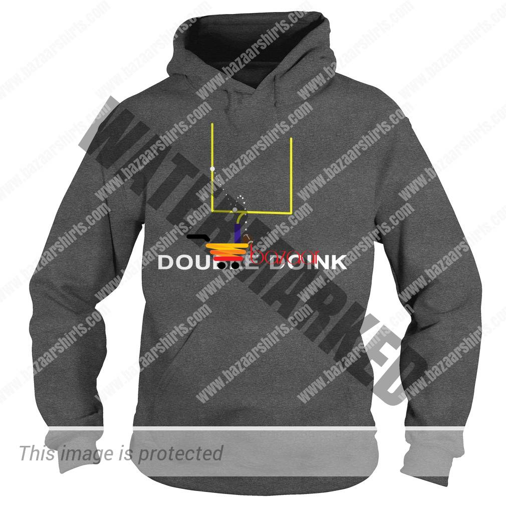 Double Doink football hoodiie