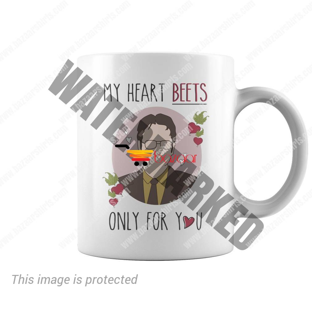 Dwight Schrute my heart beets only for you mug