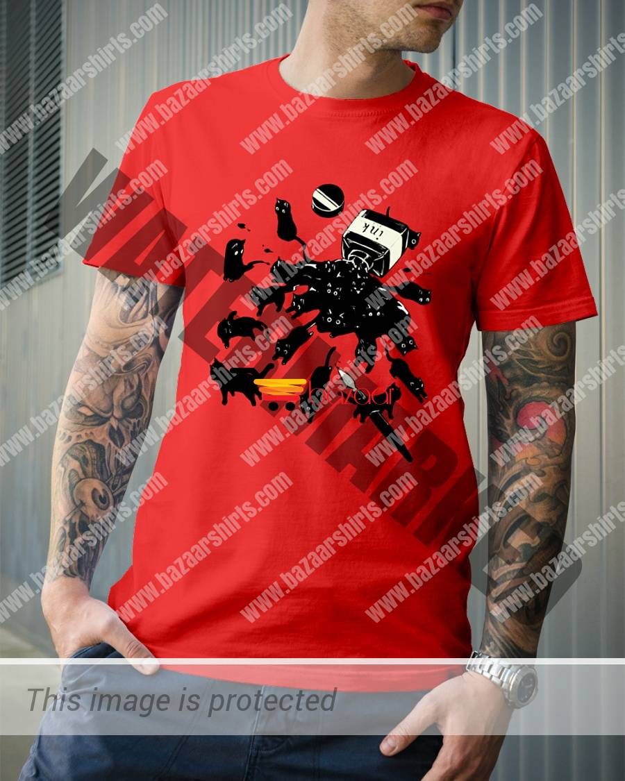 Black Cat Ink shirt