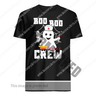 Halloween boo boo crew ghost nurse shirt